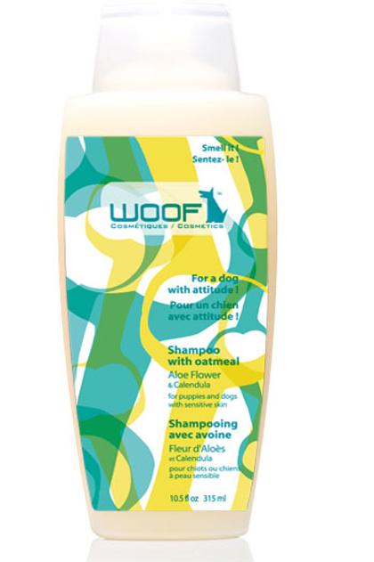 WOOF - Shampoing Chiot Fleur d'Aloès et Beurre de Karité 325ml