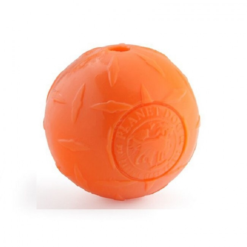 PLANET DOG - Balle Orbee Tuff Diamond Orange - Prix à partir de