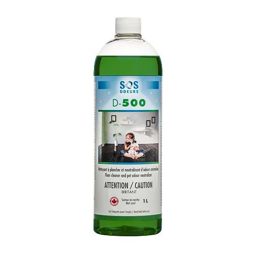 SOS ODEURS - D-500 Nettoyant et neutralisant d'odeurs 1L