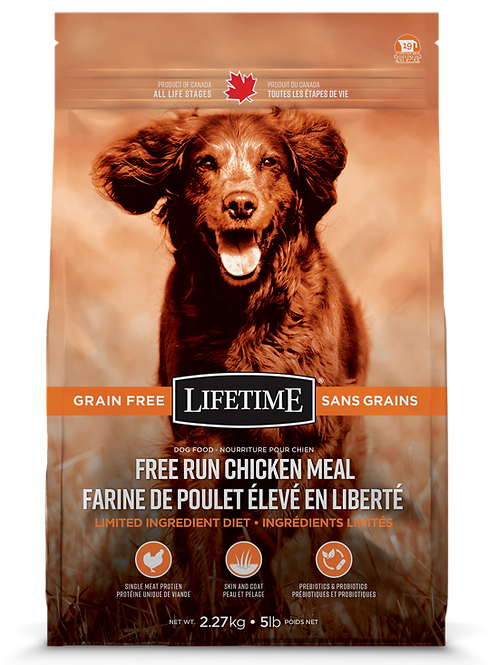 LIFETIME - Sans Grains Poulet 5lbs