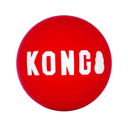 KONG - Balle Signature Petit 2/pqt