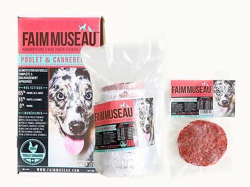 FAIM MUSEAU - Poulet et Canneberges 12lbs