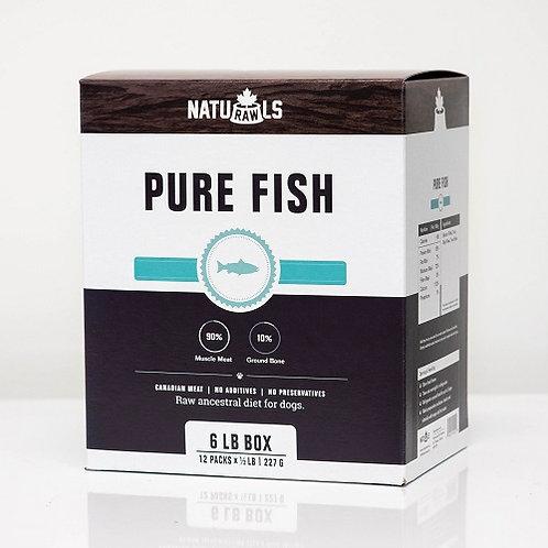 NATURAWLS - Pur Poisson  6lbs - Repas pour chiens