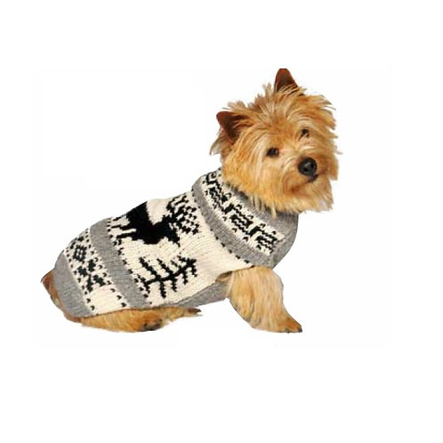CHILLY DOG - Chandail en tricot Reindeer Shawl