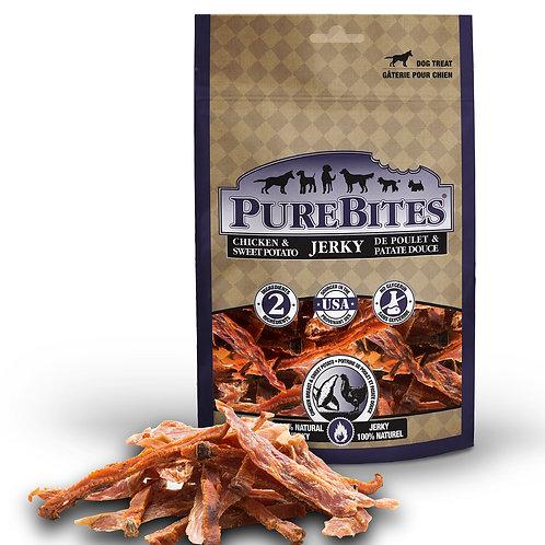 PURE BITES - Jerky Poulet et Patate Douce (180g)