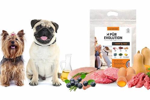PÜR EVOLUTION - Canard et Baies 30lbs - Repas pour chiens