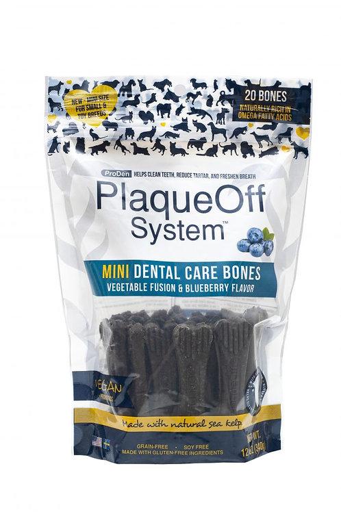 ProDen PlaqueOff - Os Dentaire MINI Légumes et Bleuets - 340g
