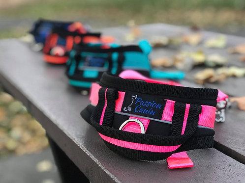 PASSION CANIN - Harnais de marche LARGE - 8 couleurs disponibles