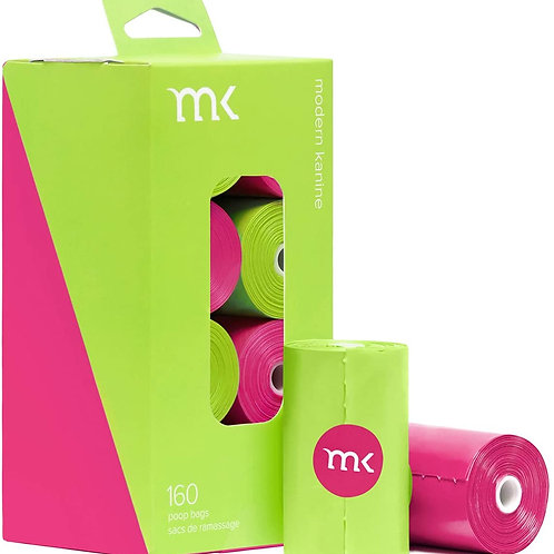 MK - Sacs de ramassage parfumés pastèque (8rlx de 20 sacs)