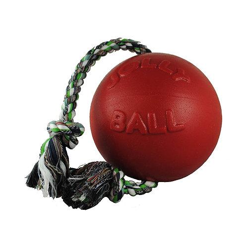 JOLLY PETS - Ballon ROMP-N-ROLL Rouge 2 grandeurs - Prix à partir de