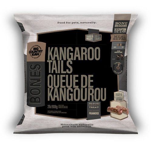 BIG COUNTRY RAW - Queue de Kangourou - 2lbs