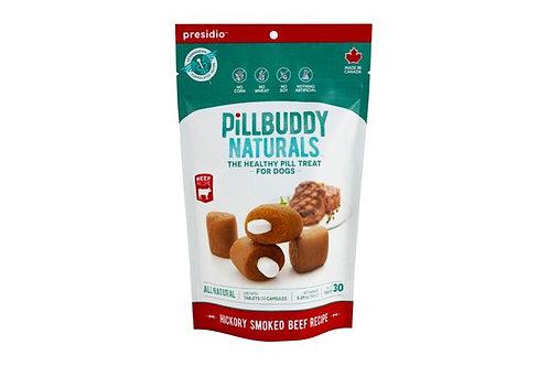 PRESIDIO - Cache-Pilule Pill Buddy Naturals Boeuf Fumé 150g