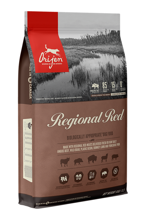 ORIJEN - Sans Grains Regional Red 25lbs