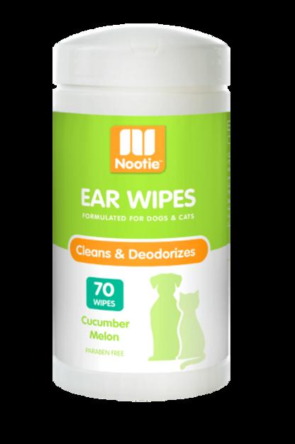 NOOTIE - Lingettes nettoyantes pour oreilles - Melon et Concombre