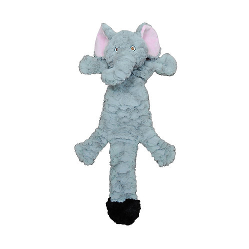 JOLLY PETS - Tug Squeak ''Fat Tail'' Éléphant Petit