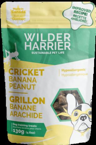 WILDER HARRIER - Gâteries tendres banane, arachide (130g)