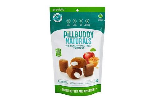 PRESIDIO - Cache-Pilule Pill Buddy Naturals Beurre d'arachide et Pomme 150g