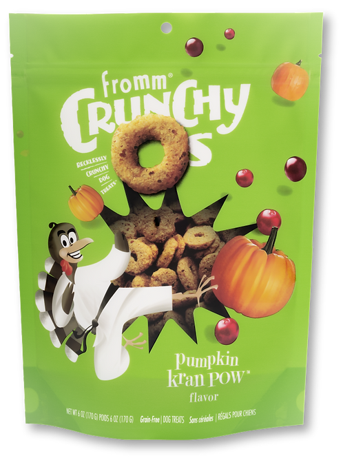 FROMM CRUNCHY OS - CITROUILLE (170g)