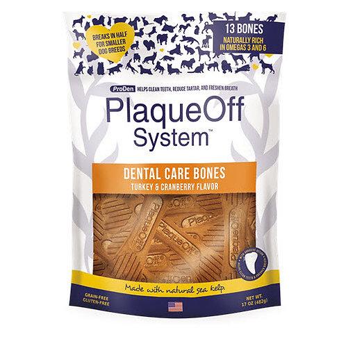 ProDen PlaqueOff - Os Dentaire Dinde et Canneberges - 482g