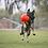 Thumbnail: JOLLY PETS - Ballon de Soccer Rouge 2 grandeurs - Prix à partir de