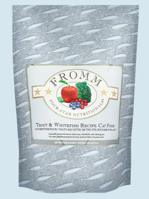 FROMM - Four Star Truite et Poisson Blanc 15lbs