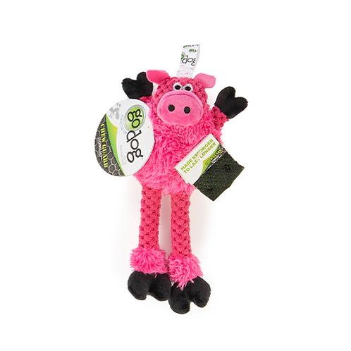 GODOG - MINI Cochon avec pattes avec technologie Chew Guard
