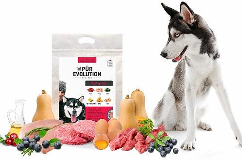 PÜR EVOLUTION - Boeuf et Poulet 30lbs - Repas pour chiens