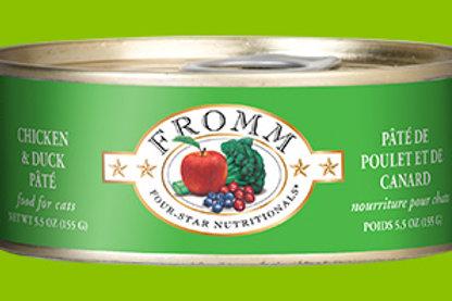 FROMM - Pâté Poulet et Canard 155g