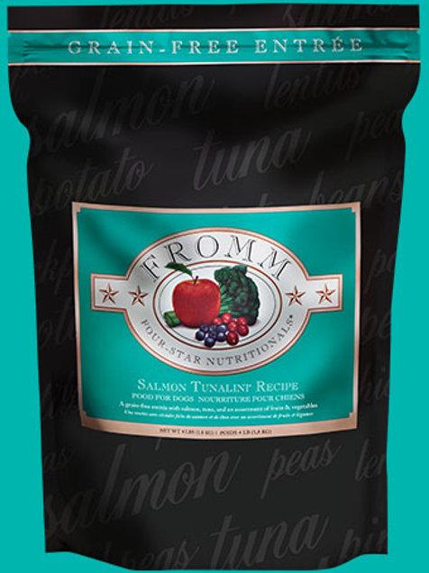 FROMM - Four Star Sans Grains Saumon Tunalini 4lbs