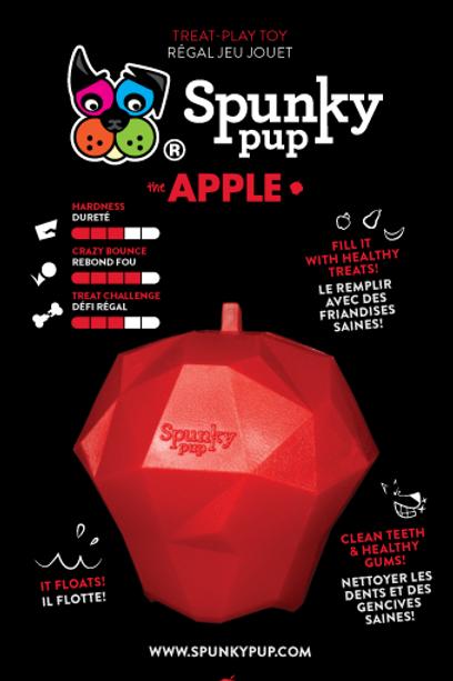 SPUNKY PUP - Jouet Intéractif Pomme