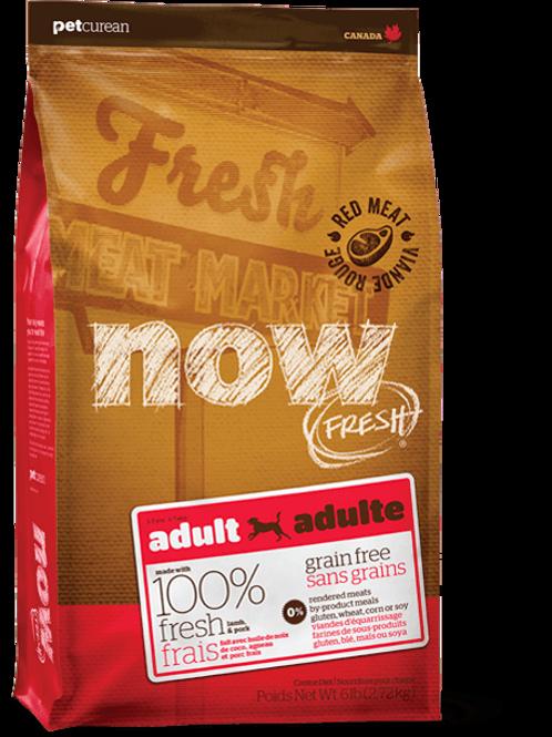 PETCUREAN NOW FRESH - Sans Grains Viande Rouge 25lbs