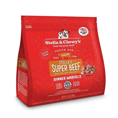 STELLA & CHEWY'S - Morceaux de repas congelés Boeuf - 4lbs