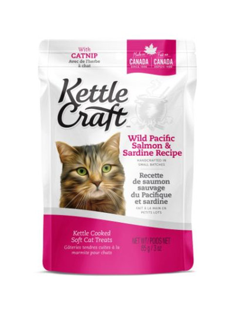 KETTLE CRAFT - Saumon et Sardine (85g)