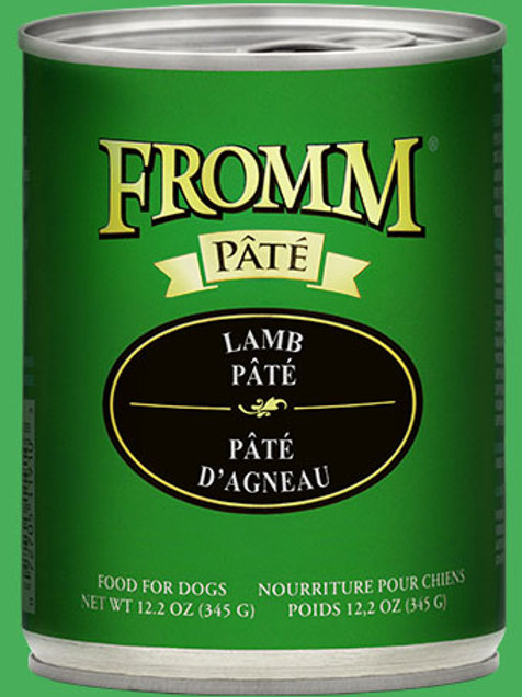 FROMM - Avec Grains Pâté Agneau 345g