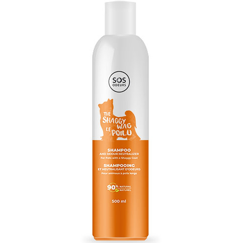 SOS ODEURS - Shampoing et neutralisant d'odeurs Le Poilu 500ml