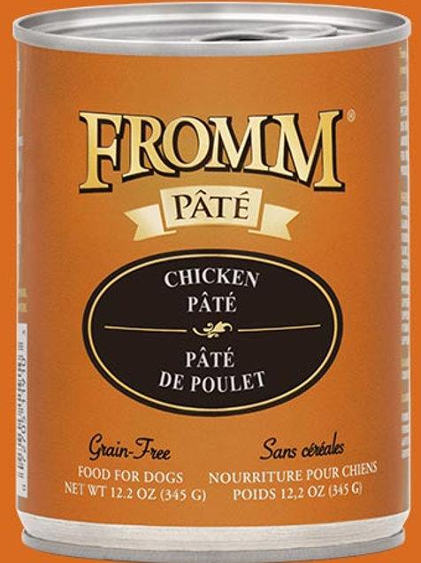 FROMM - Sans Grains Pâté Poulet 345g