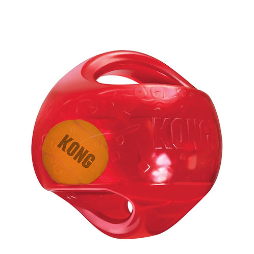 KONG - Balle JUMBLER Rouge Grand