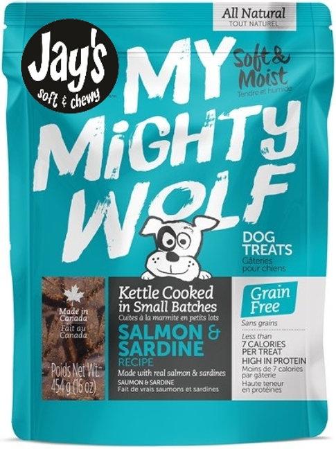 WAGGERS - My Mighty Wolf Saumon et Sardine (454g)