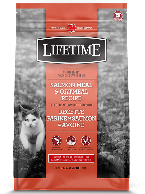 LIFETIME - Saumon et Avoine 5lbs