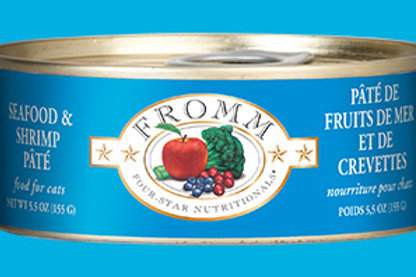 FROMM - Pâté Fruits de mer et Crevettes 155g