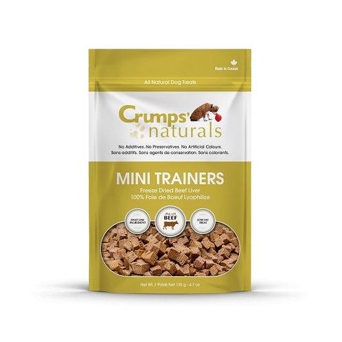 CRUMP'S NATURALS - Mini Trainers foie de bœuf lyophilisés - Prix à partir de