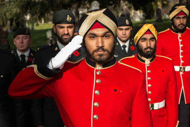 Sikhs at Royal Military College