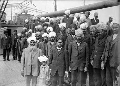 Sikhs on Kamagatamaru