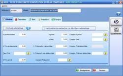 ADIX-Fiche d'un compte d'inputation