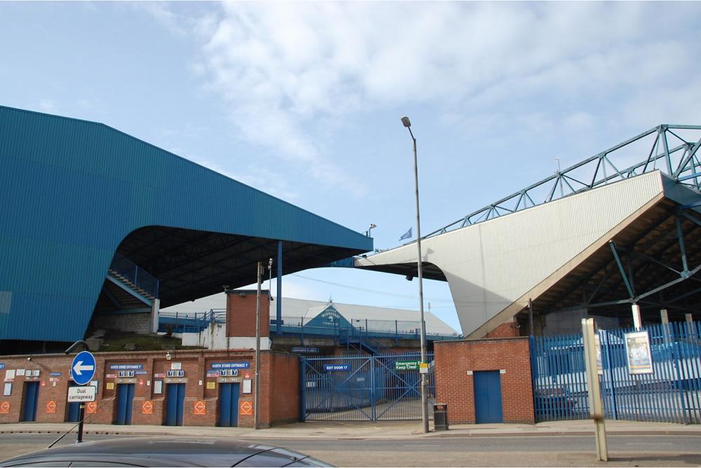 Hillsborough from outside the stadium
