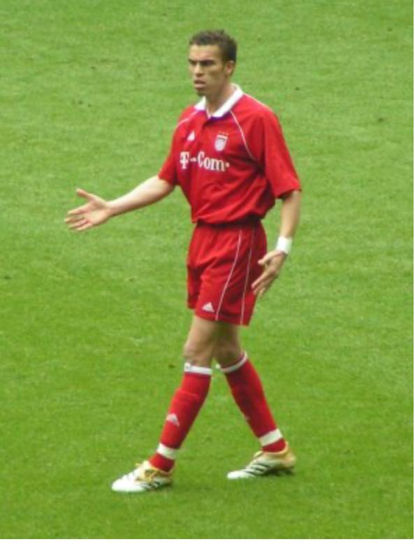Valerien Ismaël during his time with Bayern Munich