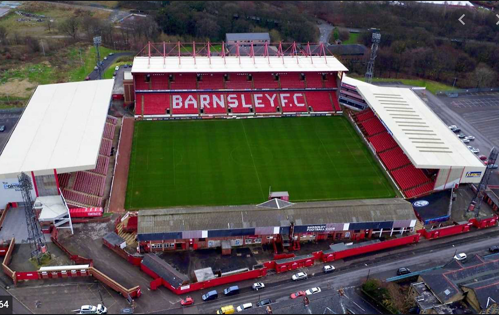 Image of Oakwell Stadium: A Stadium that represents trouble at home?