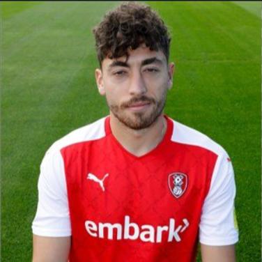 An image of Matt Crooks for Rotherham United