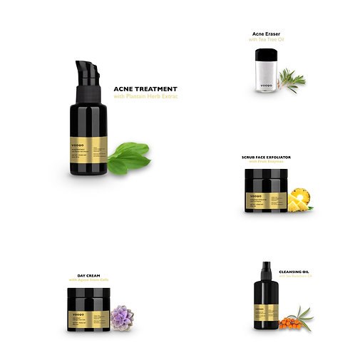 Acne & Blemish Skincare Routine - Mini