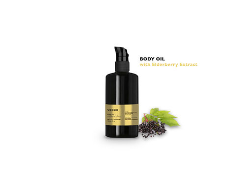 Body Oil with Elderberry